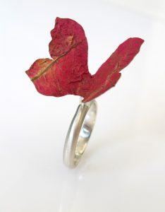 Butterfly ring. Noa Liran