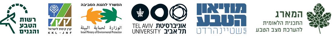 לוגואים של שותפי הפרוייקט